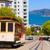 san francisco hyde street cable car california stock photo © lunamarina