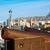 sziluett · Spanyolország · tengerpart · város · modern · üdülőhely - stock fotó © lunamarina