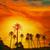 palmbomen · Spanje · strand · middellandse · zee · water · wolken - stockfoto © lunamarina