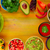salsa · de · tomate · salsa · chips · nachos · tradicional · comida · mexicana - foto stock © lunamarina