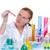 化学 · 室 · 科学 · 女性 · 試験管 · 見える - ストックフォト © lunamarina