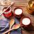 Grieks · yoghurt · honing · biscuits · glas · melk - stockfoto © lunamarina