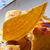 french toast with orange and ice cream stock photo © lunamarina