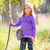 kinderen · meisje · wandelen · berg · vader · trui - stockfoto © lunamarina