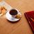owies · cookie · czerwony · tabeli - zdjęcia stock © lunamarina