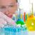 kimyasal · laboratuvar · bilim · adamı · kadın · şişeler · çalışma - stok fotoğraf © lunamarina