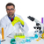 chemical laboratory scientist man working portrait stock photo © lunamarina