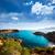 ポート · 表示 · 山 · マヨルカ島 · 島 · スペイン - ストックフォト © lunamarina
