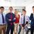 business team young people standing multi ethnic stock photo © lunamarina