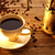 xícara · de · café · mesa · de · madeira · cafeína · objetos - foto stock © lunamarina