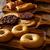 snoep · cookies · amandelen · boord · voedsel · christmas - stockfoto © lunamarina