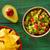 aguacate · tomates · nachos · comida · mexicana · alimentos · restaurante - foto stock © lunamarina