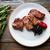 alla · griglia · carne · peperoni · cucina · piatto · mangiare - foto d'archivio © lunamarina