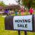 moving sale in an american weekend on the yard stock photo © lunamarina
