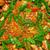 Paella from Spain recipe process vegetables stock photo © lunamarina