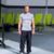фитнес · человека · осуществлять · гири · здорового - Сток-фото © lunamarina