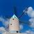 verouderd · windmolen · hemel · reizen · eiland · vakantie - stockfoto © lunamarina