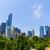 セントラル·パーク · マンハッタン · ニューヨーク市 · 空 · 水 · 春 - ストックフォト © lunamarina