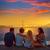 закат · океана · крутой · Калифорния · фото - Сток-фото © lunamarina