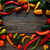 renkli · Meksika · ahşap · masa · kırmızı · gıda - stok fotoğraf © lunamarina