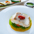 atlantic hake over dried tomato ratatouille stock photo © lunamarina