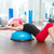 top · uygunluk · eğitmen · kadın · aerobik · spor · salonu - stok fotoğraf © lunamarina
