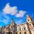Valencia · stad · gebouw · vierkante · hal · Spanje - stockfoto © lunamarina