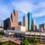 Houston · skyline · noorden · Texas · antenne - stockfoto © lunamarina