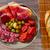 pane · olive · tavola · coltello · pranzo · fresche - foto d'archivio © lunamarina