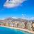 plaj · gökyüzü · su · şehir · manzara - stok fotoğraf © lunamarina