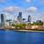 Londra · financial · district · ufuk · çizgisi · kare · şehir · köprü - stok fotoğraf © lunamarina