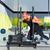 ケトルベル · トレーニング · 訓練 · 男 · ジム · スイング - ストックフォト © lunamarina