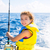 rubio · nina · pesca · atún · arrastre · mediterráneo - foto stock © lunamarina