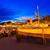 porta · tramonto · isola · Spagna · spiaggia - foto d'archivio © lunamarina