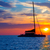 катамаран · парусника · парусного · синий · океана · воды - Сток-фото © lunamarina