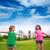 dwa · mały · dzieci · parku · zdjęcie · cute - zdjęcia stock © lunamarina