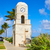palm beach worth avenue clock tower florida stock photo © lunamarina