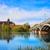 Salamanca skyline in Enrique Estevan bridge stock photo © lunamarina