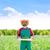 лук · растущий · синий · завода · банка · продовольствие - Сток-фото © lunamarina