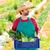 landbouwer · man · oogst · groenten · boomgaard · middellandse · zee - stockfoto © lunamarina