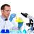 laboratuvar · bilim · adamı · çalışma · laboratuvar · test - stok fotoğraf © lunamarina