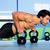 tornaterem · férfi · erő · kettlebell · testmozgás · crossfit - stock fotó © lunamarina