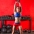 gymnasium · vrouw · sterkte · oefening · crossfit - stockfoto © lunamarina