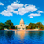 budynku · Washington · DC · światło · słoneczne · USA · kongres · basen - zdjęcia stock © lunamarina