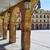leon plaza mayor in way of saint james castilla stock photo © lunamarina