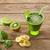 Detox green juice cleansing recipe stock photo © lunamarina