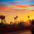 la · Los · Angeles · coucher · du · soleil · Skyline · trafic · Californie - photo stock © lunamarina