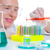 kimyasal · laboratuvar · bilim · adamı · kadın · deney · tüpü · çalışma - stok fotoğraf © lunamarina