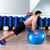 fitball abdominal push ups swiss ball man stock photo © lunamarina