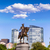 Бостон · Монумент · Вашингтона · закат · Массачусетс · США · лошади - Сток-фото © lunamarina